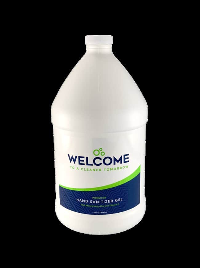 Dynamic Diagnostics Feel Welcome Hand Sanitizer Gel:Gloves, Glasses and