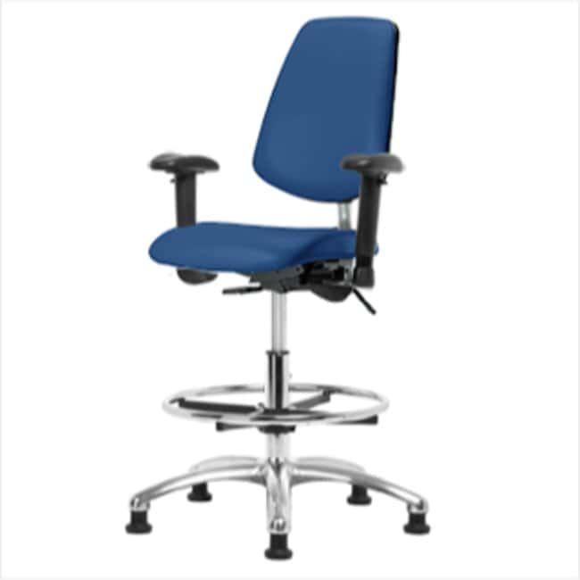 FisherbrandClass 100 Vinyl Clean Room/ESD Chair - Med Bench Height with