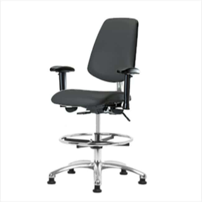 FisherbrandClass 100 Vinyl CR Chair - Med Bench Height with Med Back, Adj