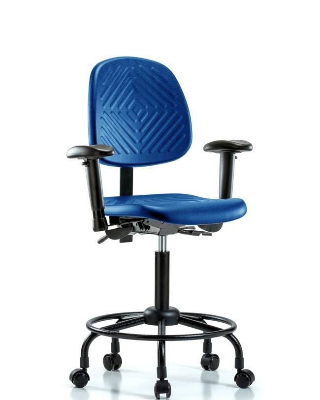 FisherbrandPolyurethane Chair with Round Tube Base - Medium Bench Height