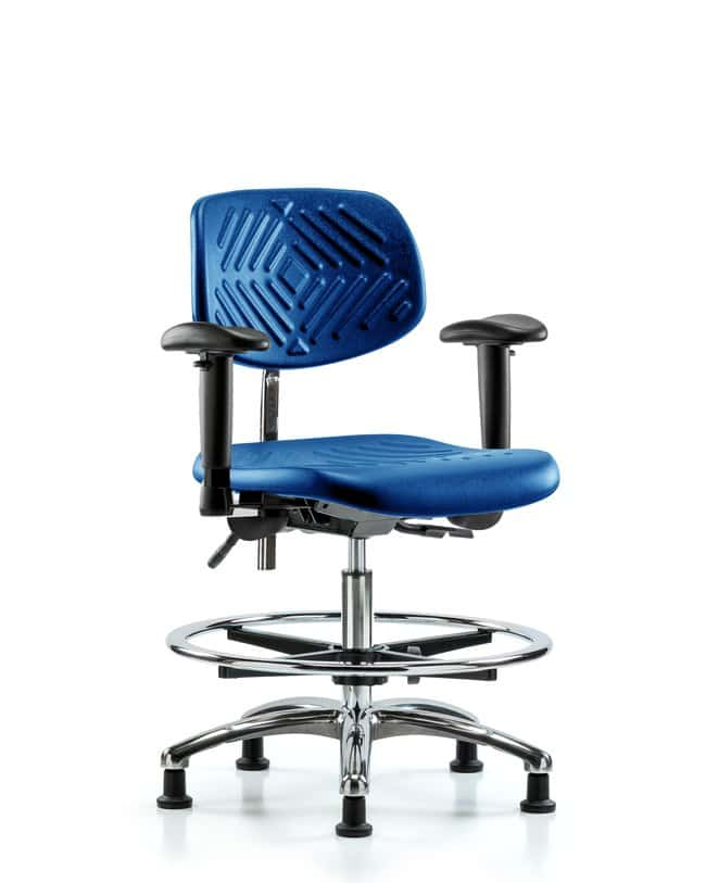 FisherbrandClass 100 Poly Clean Room Chair - Medium Bench Height with Adjustable