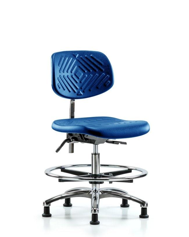 FisherbrandClass 100 Polyurethane Clean Room Chair - Medium Bench Height
