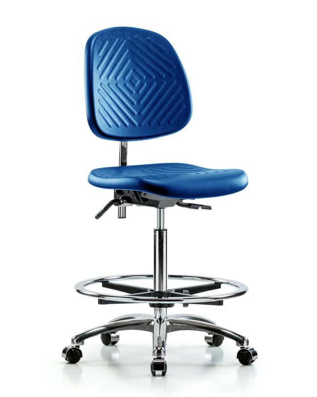 FisherbrandClass 100 Polyurethane Clean Room Chair - High Bench Height