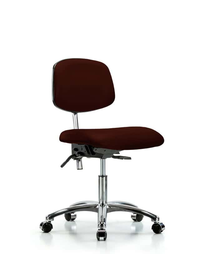 Brilliant Fisherbrand Class 100 Clean Room Chair Burgundy Desk Height Gloves Glasses And Safety Controlled Environments And Cleanroom Machost Co Dining Chair Design Ideas Machostcouk