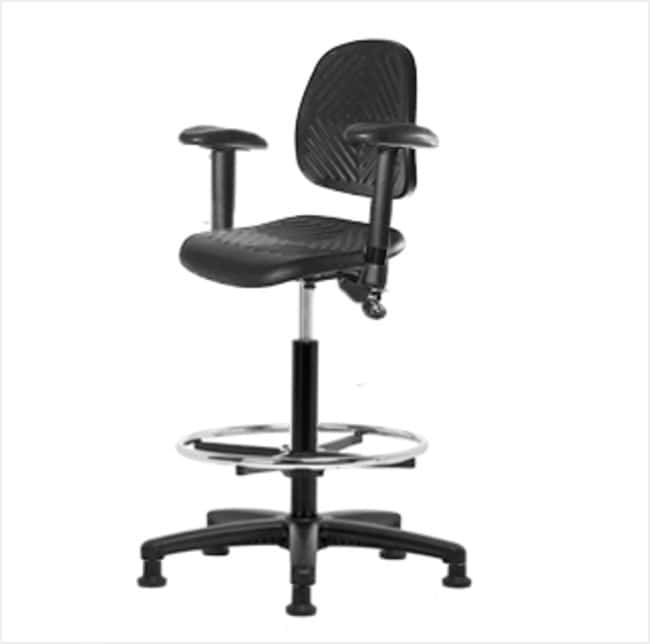 FisherbrandPolyurethane Chair - High Bench Height with Medium Back, Adjustable