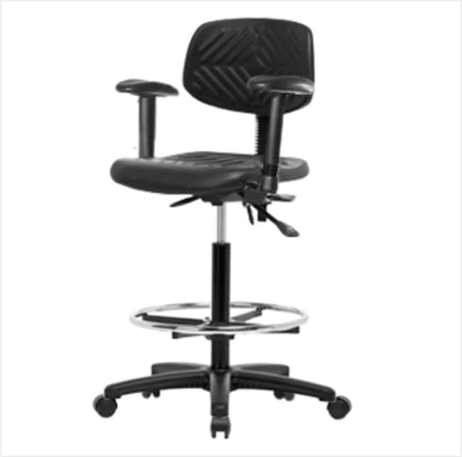 FisherbrandPolyurethane Chair - High Bench Height with Adjustable Arms,