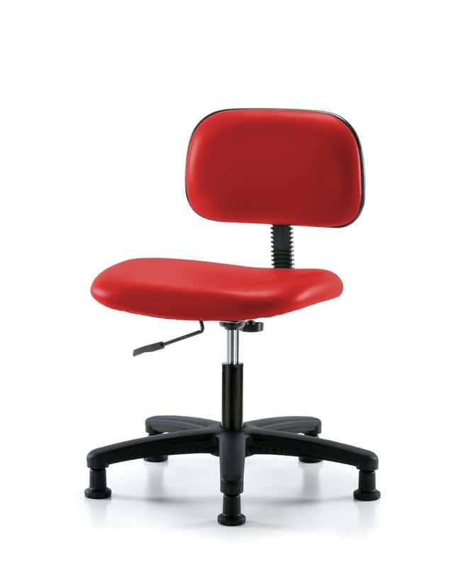 FisherbrandCore Vinyl Chair - Desk Height with Stationary Glides in Grade