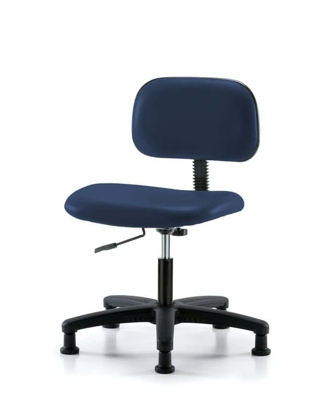 Fisherbrand Core Vinyl Chair - Desk Height with Stationary Glides in Grade