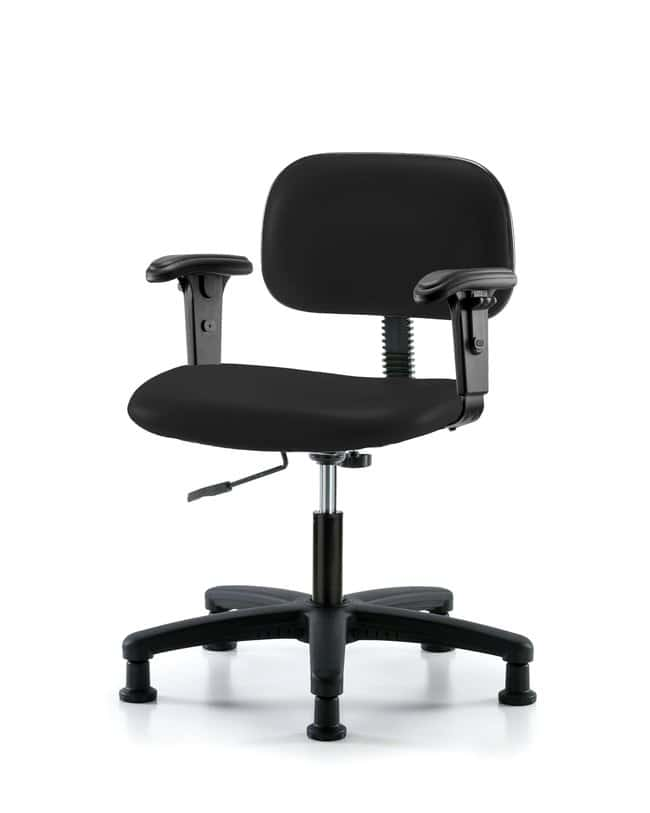 FisherbrandCore Vinyl Chair - Desk Height with Adjustable Arms and Stationary