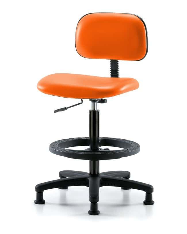FisherbrandCore Vinyl Chair - Medium Bench Height with Black Foot Ring