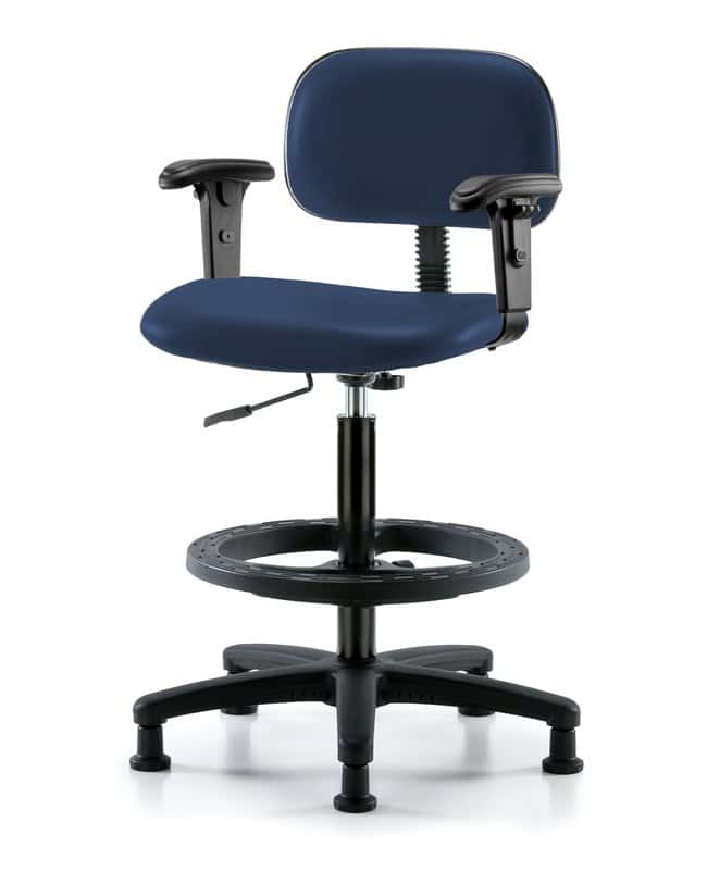 FisherbrandCore Vinyl Chair - Medium Bench Height with Adjustable Arms,