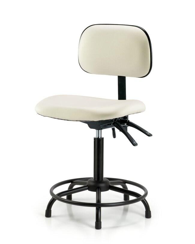 FisherbrandCore Vinyl Chair - Medium Bench Height with Round Tube Base