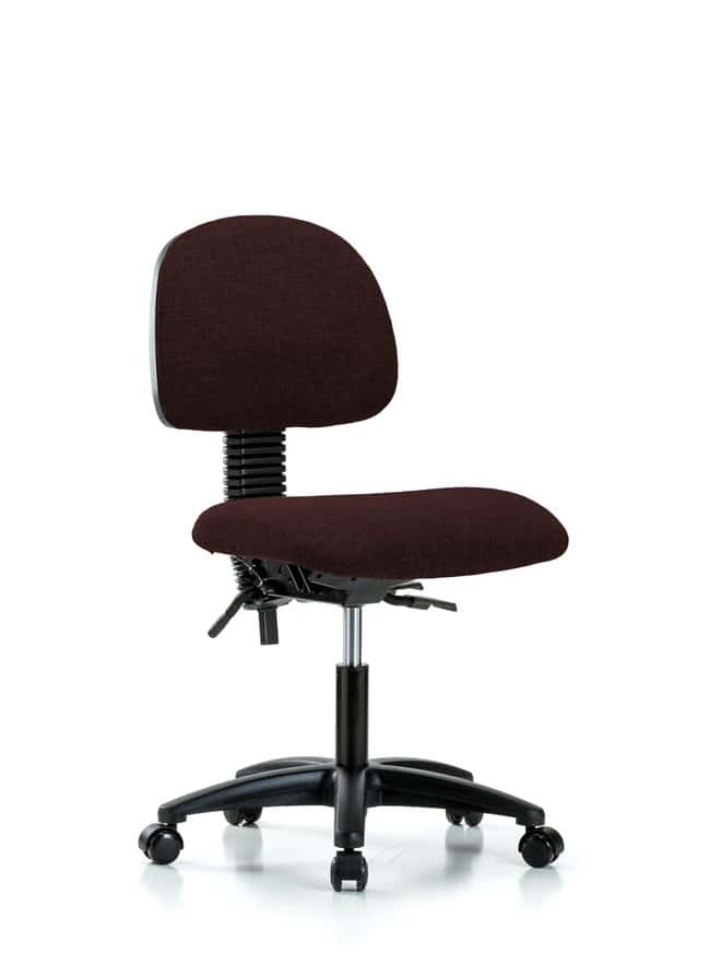 FisherbrandFabric Chair - Desk Height with Casters in Fabric:Furniture:Seating
