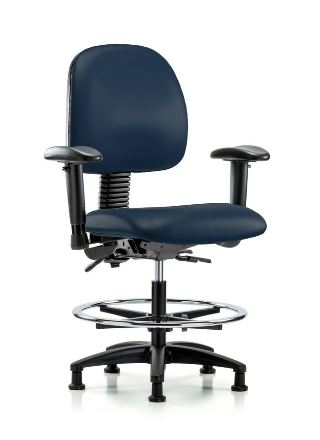 FisherbrandVinyl Chair - Med Bench Height with Medium Back, Seat Tilt,