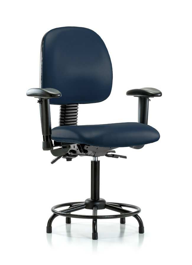 FisherbrandVinyl Chair - Medium Bench Height with Round Tube Base, Medium