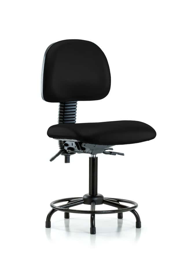 FisherbrandVinyl Chair - Medium Bench Height with Round Tube Base and Stationary