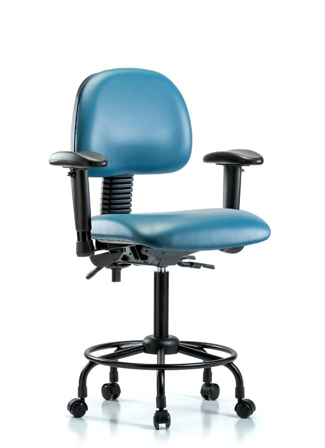 FisherbrandVinyl Chair - Medium Bench Height with Round Tube Base, Seat