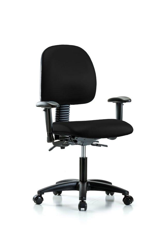 FisherbrandVinyl Chair - Desk Height with Medium Back, Seat Tilt, Adjustable