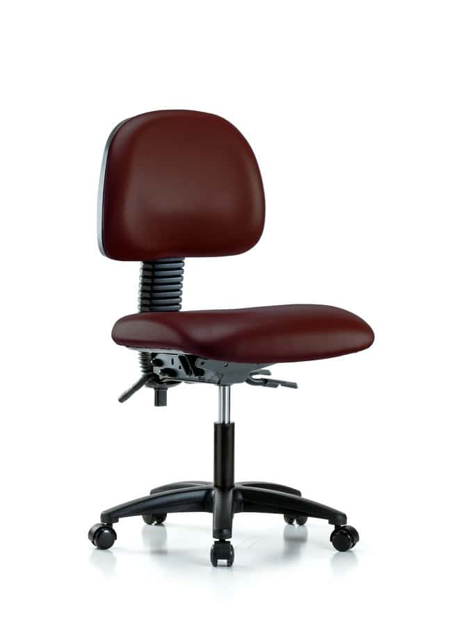 FisherbrandVinyl Chair - Desk Height with Casters in Grade B Vinyl:Furniture:Seating