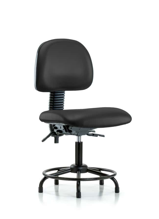 FisherbrandVinyl Chair - Desk Height with Round Tube Base, Seat Tilt, and