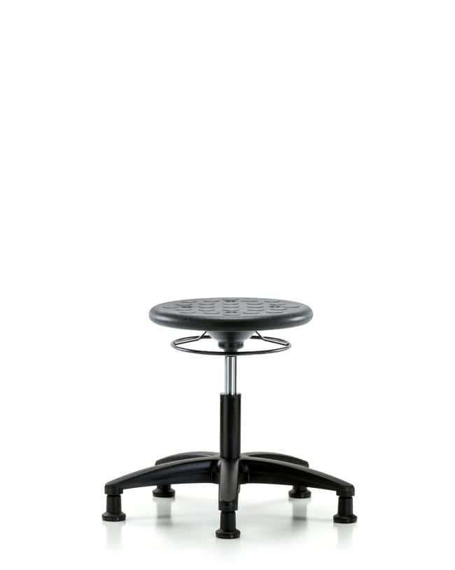 Fisherbrand™Huron Polyurethane Stool - Desk Height with Stationary Glides in Polyurethane