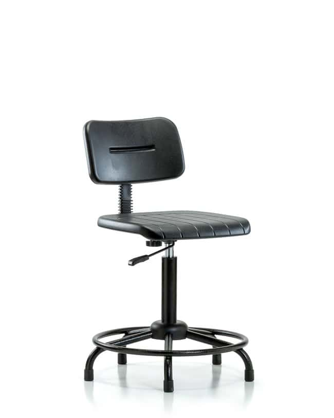 Fisherbrand™Core Polyurethane Chair - Medium Bench Height with Round Tube Base and Casters