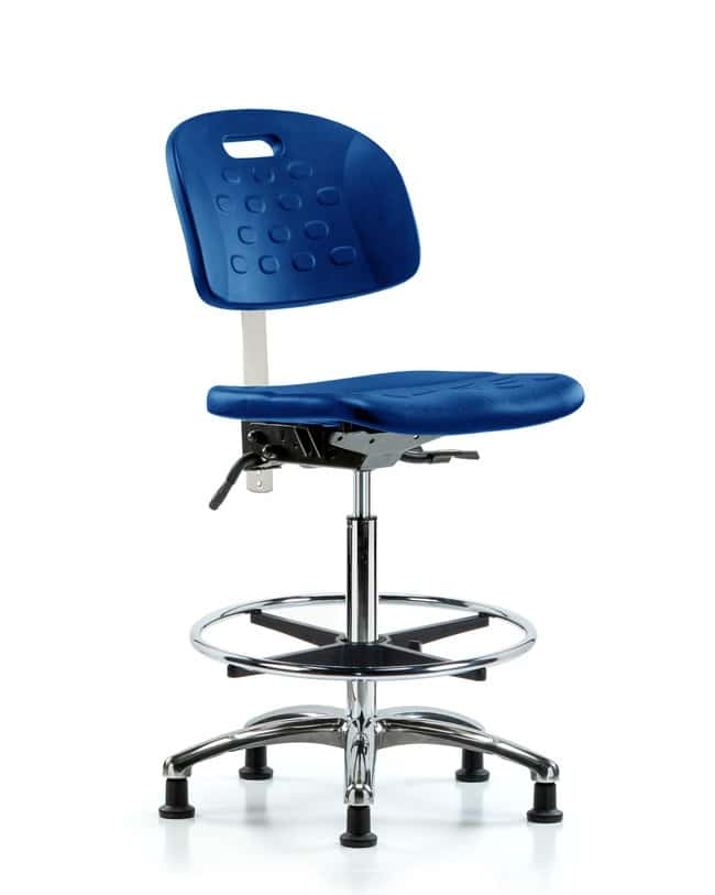 FisherbrandClass 10 Newport Industrial Poly Clean Room Chair - High Bench