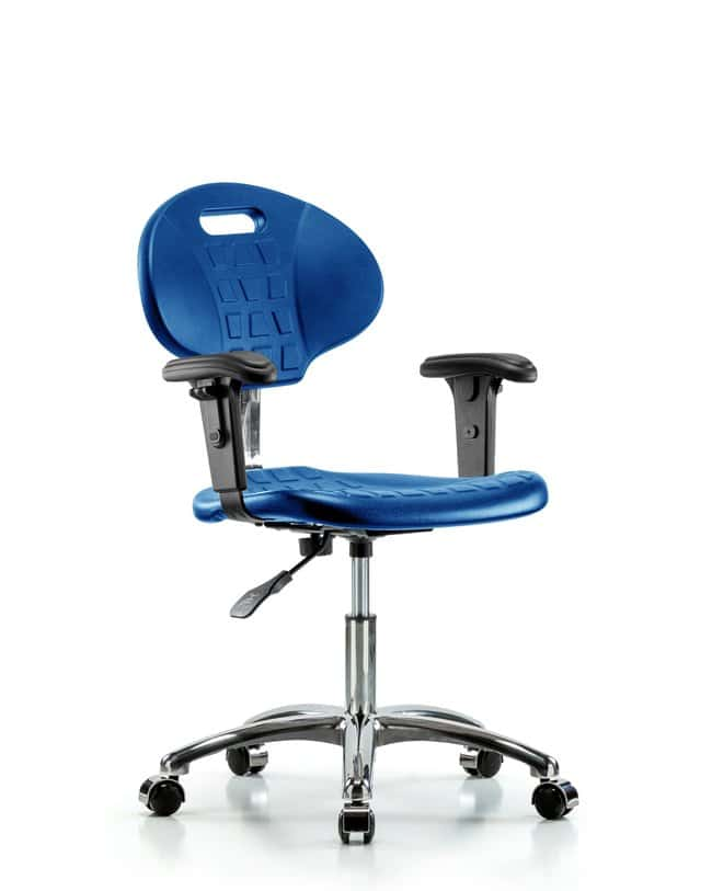 FisherbrandClass 10 Erie Polyurethane Clean Room Chair - Desk Height with