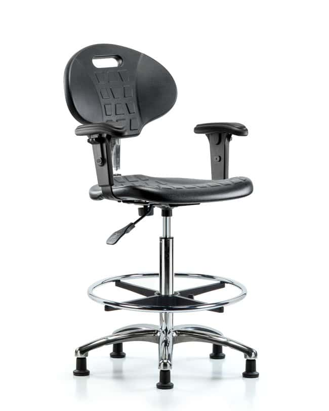 FisherbrandClass 10 Erie Poly Clean Room Chair - High Bench Height with