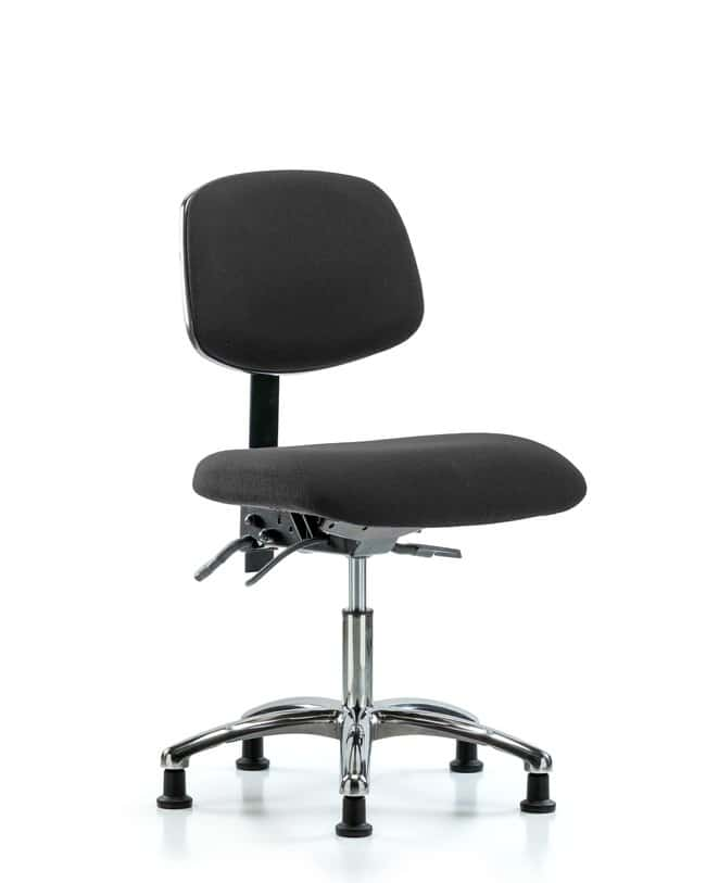 FisherbrandFabric ESD Chair - Desk Height with Seat Tilt and ESD Casters