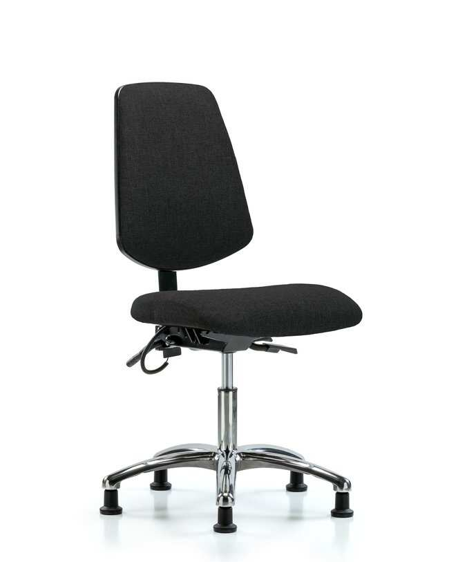 FisherbrandFabric ESD Chair - Desk Height with Medium Back, Seat Tilt,