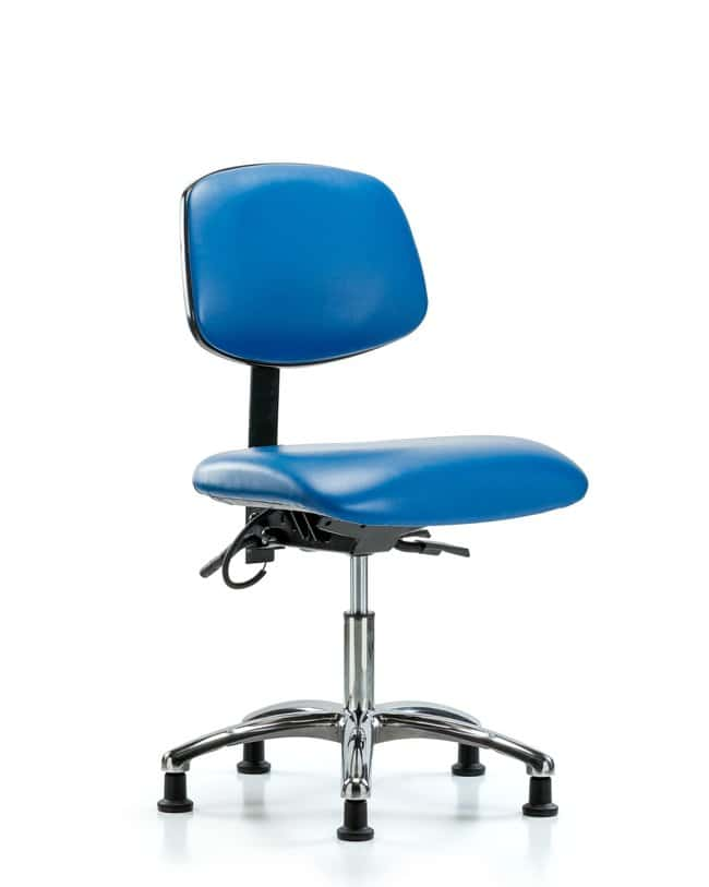 FisherbrandVinyl ESD Chair - Desk Height with ESD Stationary Glides in