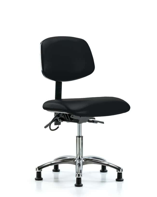 FisherbrandVinyl ESD Chair - Desk Height with Seat Tilt and ESD Stationary