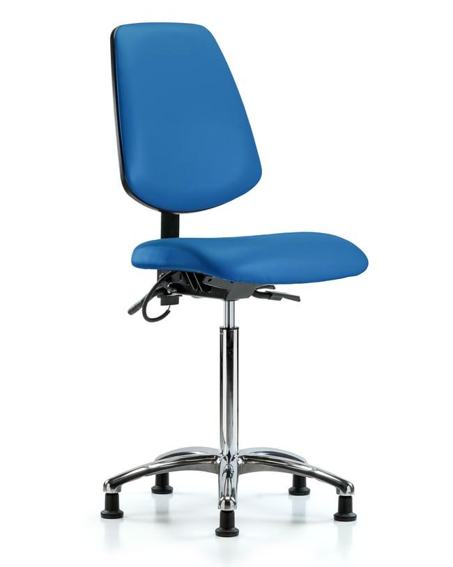 FisherbrandVinyl ESD Chair - Desk Height with Medium Back, Seat Tilt, and