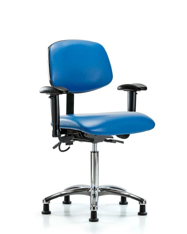 Fisherbrand Vinyl ESD Chair - Medium Bench Height with Seat Tilt, Adjustable