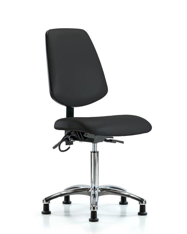 FisherbrandVinyl ESD Chair - Medium Bench Height with Medium Back and ESD