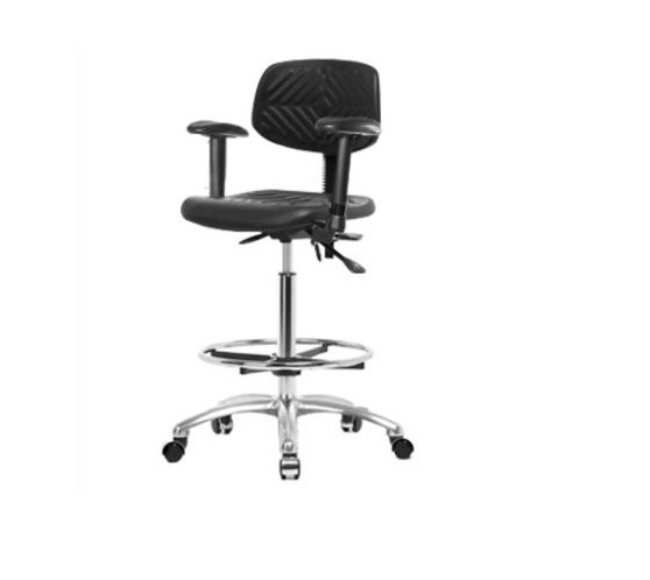 Fisher Science Education Pneumatic Fabric ESD Chairs with Adjustable Arms