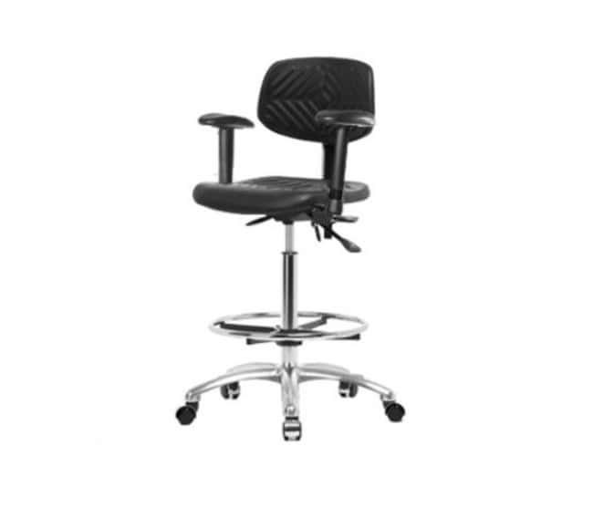 Fisher Science Education Pneumatic Polyurethane Chair with Adjustable Arms,