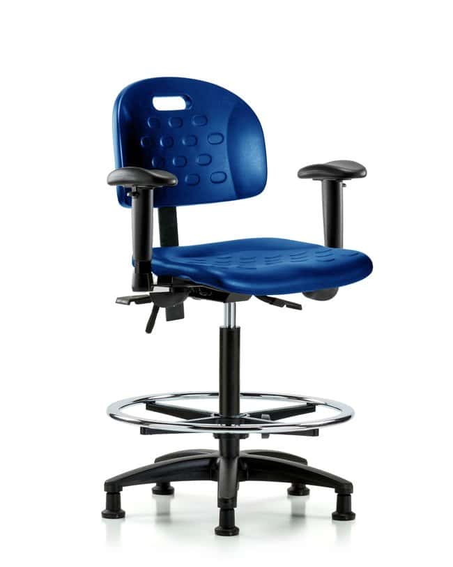 FisherbrandNewport Industrial Poly Chair - High Bench Height with Seat