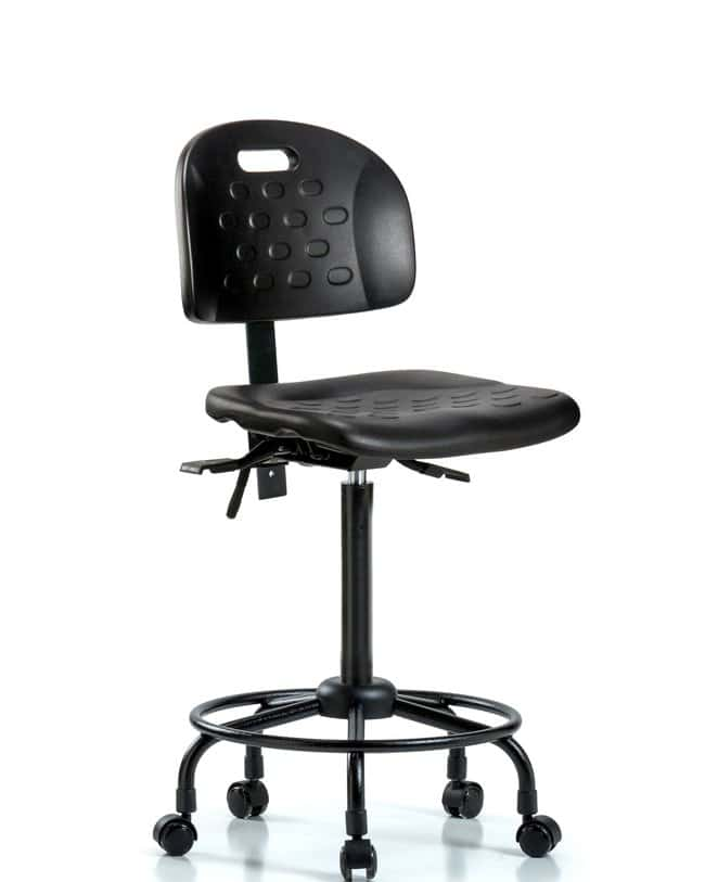 FisherbrandNewport Industrial Polyurethane Chair with Round Tube Base -