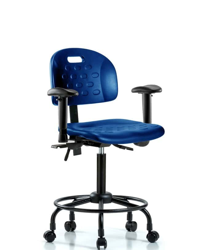 FisherbrandNewport Industrial Poly Chair with Round Tube Base - Medium