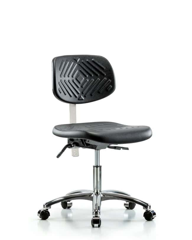 FisherbrandClass 100 Polyurethane Clean Room Chair - Desk Height with Seat