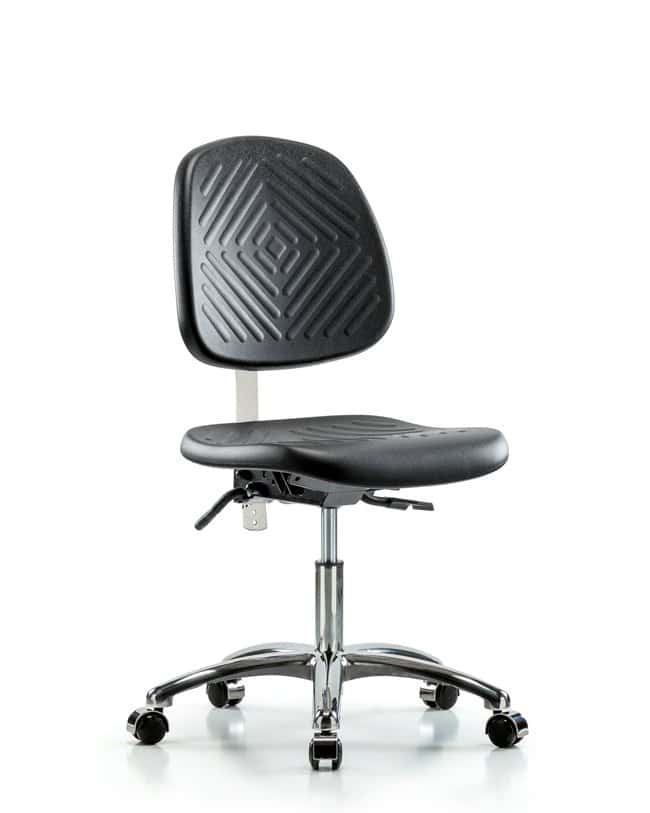 FisherbrandClass 10 Polyurethane Clean Room Chair - Desk Height with Medium