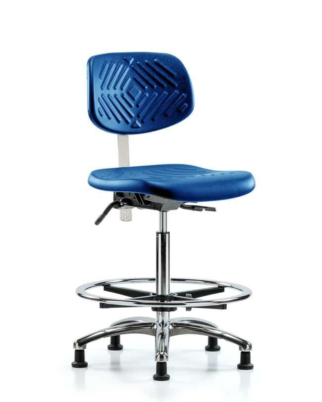 FisherbrandClass 10 Polyurethane Clean Room Chair - High Bench Height with
