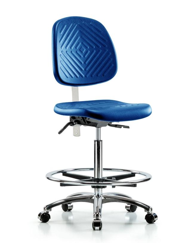 FisherbrandClass 10 Polyurethane Clean Room Chair - High Bench Height Medium