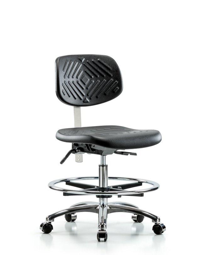 Fisherbrand Class 100 Polyurethane Clean Room Chair - Medium Bench Height