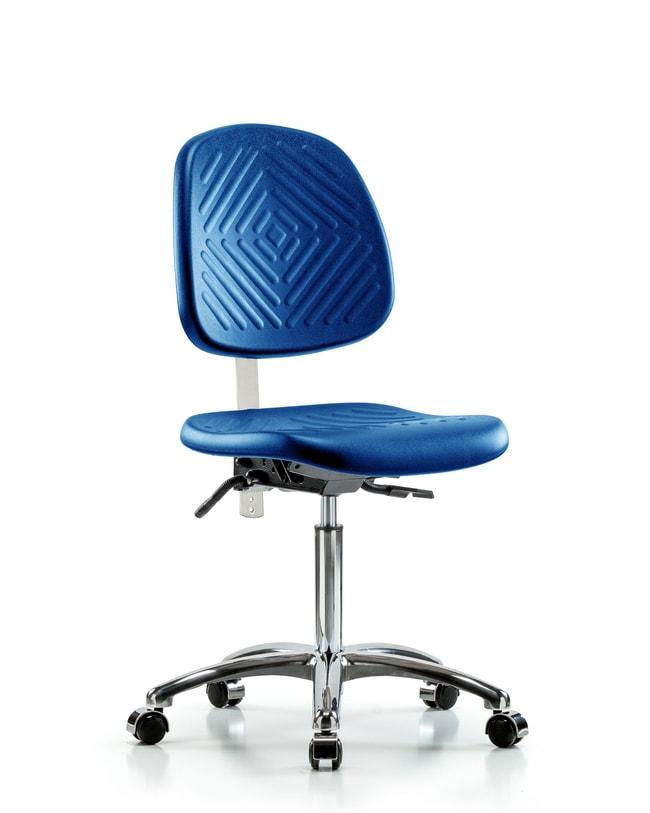 FisherbrandClass 10 Polyurethane Clean Room Chair - Medium Bench Height