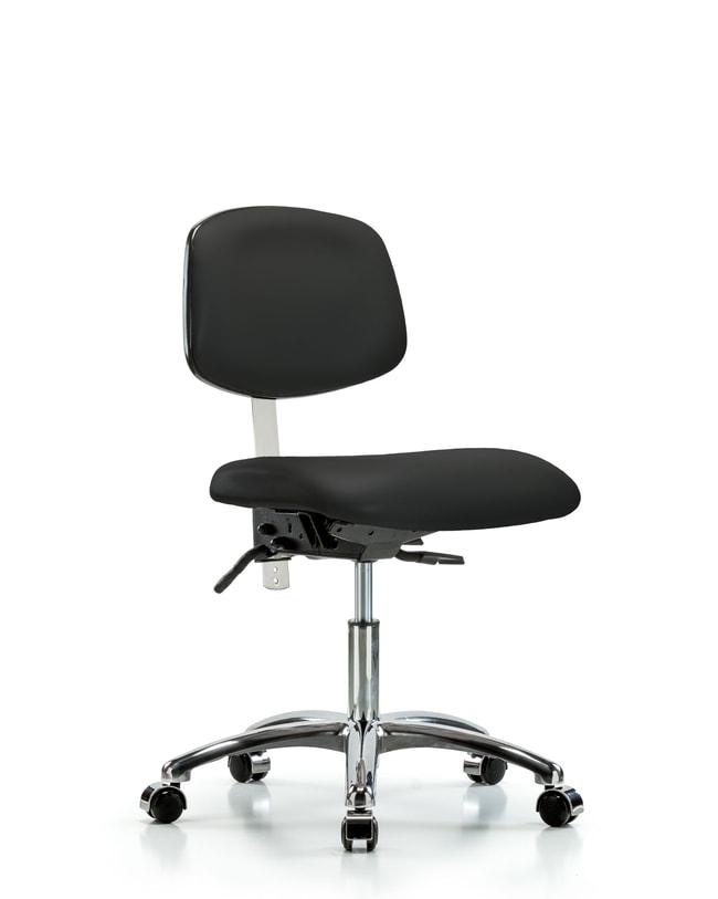 FisherbrandClass 100 Vinyl Clean Room Chair - Desk Height with Seat Tilt