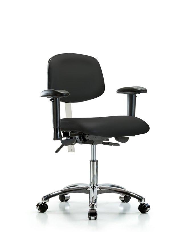 FisherbrandClass 100 Vinyl Clean Room Chair - Desk Height with Seat Tilt,