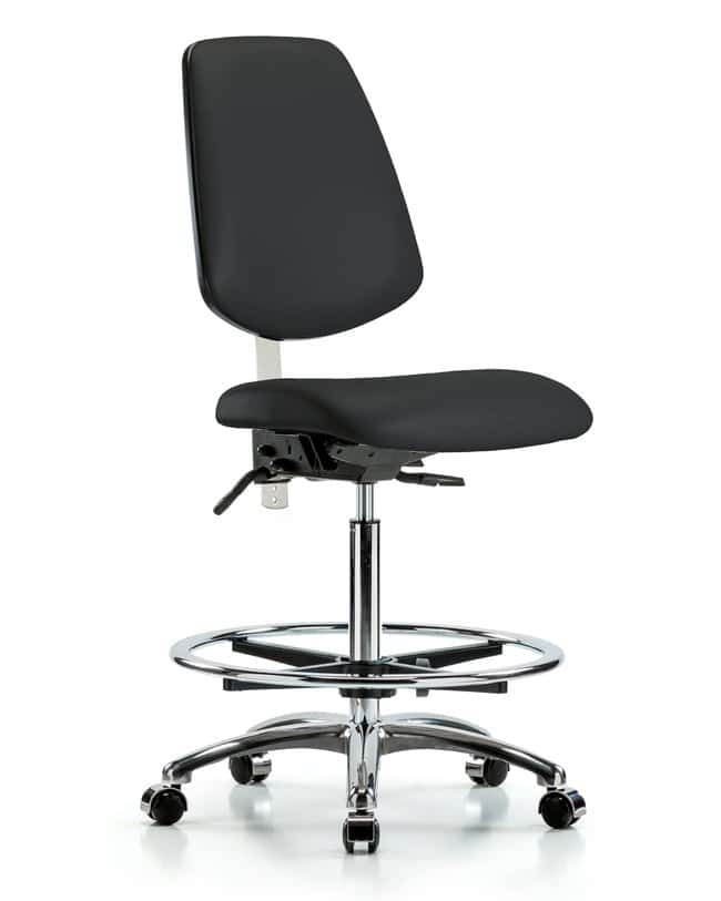 FisherbrandClass 100 Vinyl Clean Room Chair - High Bench Height with Medium